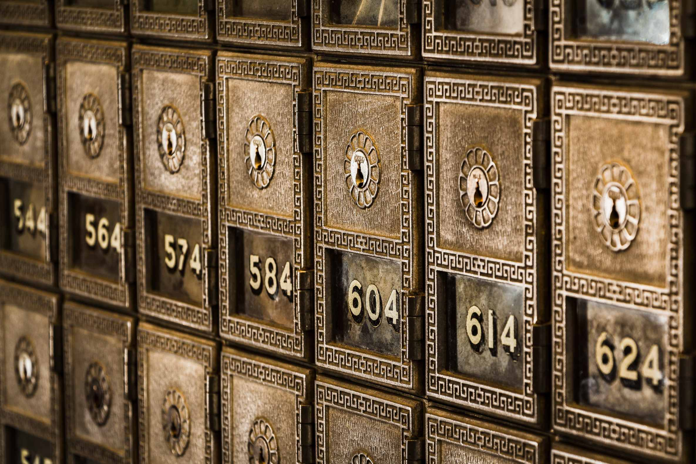 High Security Safety Deposit Boxes