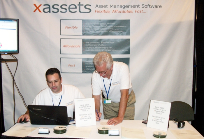 xAssets was present at the IAITAM Show in October
